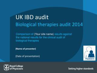 UK IBD audit