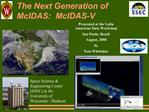 The Next Generation of McIDAS:  McIDAS-V