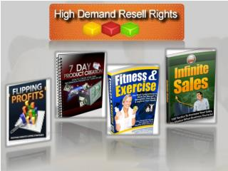 Private Label Rights Ebooks