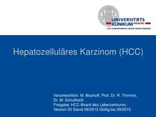 Hepatozelluläres  Karzinom (HCC)