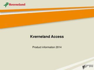 Kverneland Access