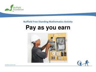 Pay as you earn