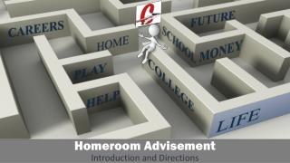 Homeroom  Advisement