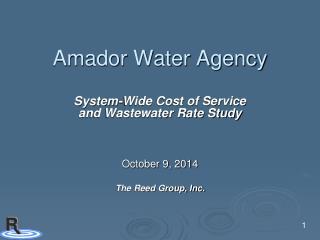 Amador Water Agency