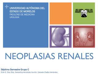 NEOPLASIAS RENALES