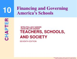 Financing and Governing America's Schools