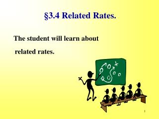 §3.4 Related Rates.