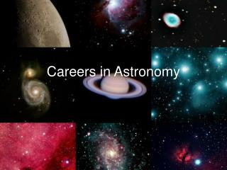 Careers in Astronomy