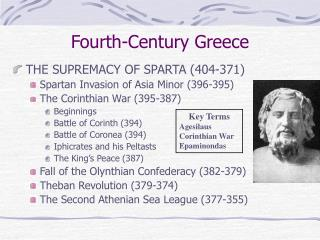 Fourth-Century Greece