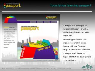 foundation learning passport
