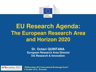 EU Research Agenda: The European Research Area  and Horizon 2020