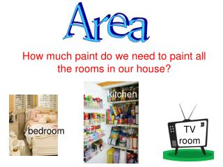 How much paint do we need to paint all the rooms in our house?