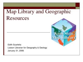 Map Library and Geographic Resources