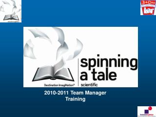 2010-2011 Team Manager Training