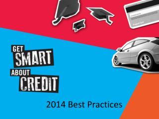 2014 Best Practices