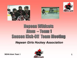 Nepean Wildcats  Atom  � Team 1 Season Kick-Off  Team Meeting