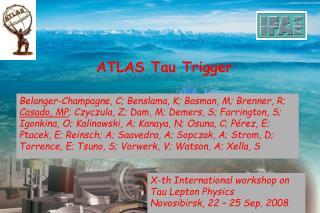ATLAS Tau Trigger