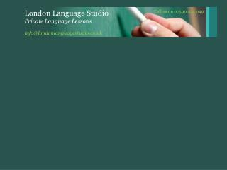 info@londonlanguagestudio.co.uk