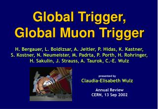 Global Muon Trigger (Vienna)
