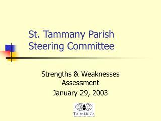 St. Tammany Parish Steering Committee