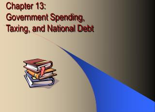 Chapter 13:  Government Spending,  Taxing, and National Debt