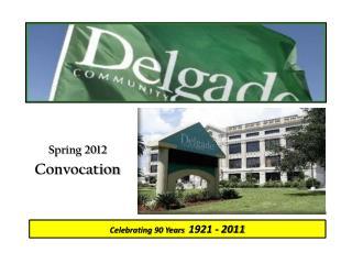 Spring 2012 Convocation