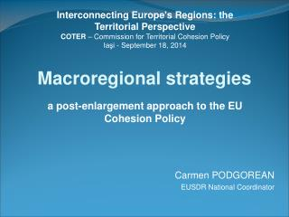 Macroregional strategies