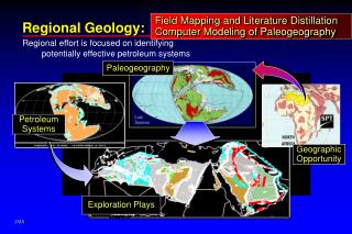 Field Mapping and Literature Distillation Computer Modeling of Paleogeography