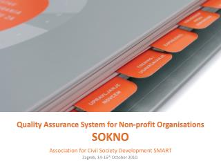 Quality Assurance System for Non-profit Organisations SOKNO