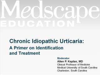 Chronic Idiopathic Urticaria: