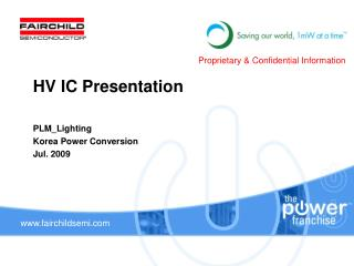 PLM_Lighting  Korea Power Conversion Jul. 2009