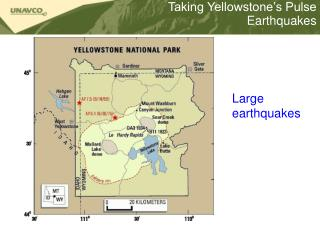 Taking Yellowstone�s Pulse Earthquakes