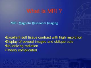 What is MRI ?