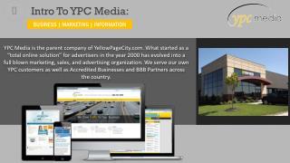 Intro To YPC Media: