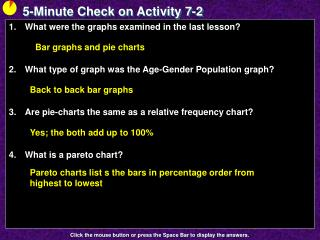 5-Minute Check on Activity  7-2