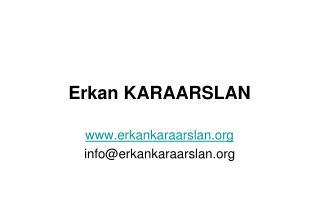 Erkan KARAARSLAN
