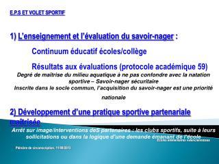 Ecoles élémentaires valenciennoises Plénière de circonscription, 11/09/2013