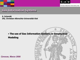 Geo Information Systems