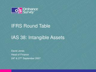 IFRS Round Table IAS 38: Intangible Assets