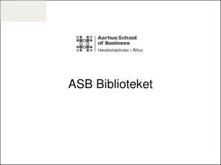 ASB Biblioteket