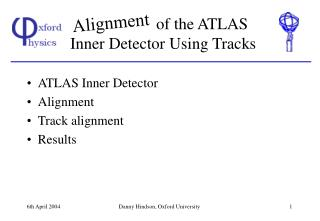 of the ATLAS Inner Detector Using Tracks