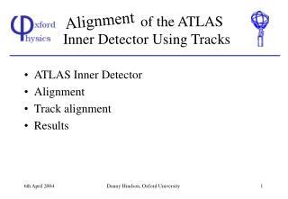 of the ATLAS Inner Detector Using Tracks