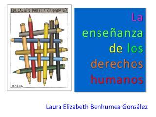 La enseñanza de los derechos humanos