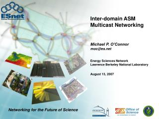 Inter-domain ASM Multicast Networking