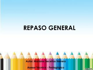 REPASO  GENERAL
