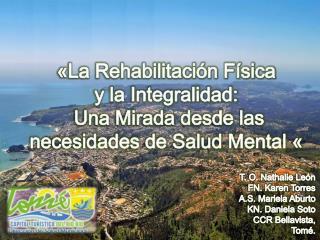 «La Rehabilitación Física  y la Integralidad:  Una Mirada desde las necesidades de Salud Mental «