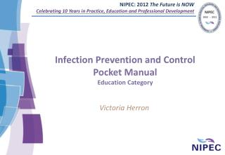 Infection Prevention and Control Pocket Manual Education Category