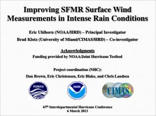 Improving SFMR Surface Wind Measurements in Intense Rain Conditions