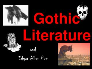 a history of gothicism in literature Overview of american literature - overview of american literature the history of american  american gothic literature -  of romance and gothicism.