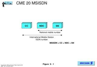 CME 20 MSISDN
